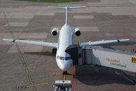 F-GPXB @ DUS - Fokker 100