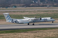 G-JEDO @ DUS - Bombardier DHC-8-402