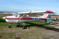 G-BPJW @ EGNG - Cessna A150K at Bagby