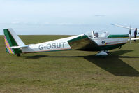 G-OSUT - Motorised Glider at Sutton Bank