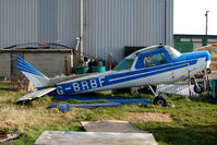 G-BRBF @ EGNG - WFU ? Cessna 152 at Bagby