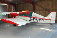 G-BNDT @ EGNG - Colibri MB2 at Bagby