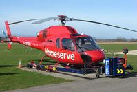 G-ORDH @ EGNG - Eurocopter AS355N at Bagby