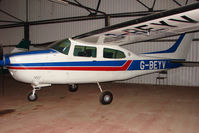 G-BEYV @ EGNG - Cessna T210M at Bagby