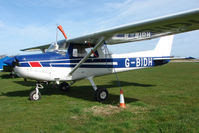 G-BIDH @ EGNG - Cessna 152 at Bagby - by Terry Fletcher