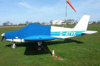 G-ATVK @ EGNG - Piper Pa28-140 at Bagby