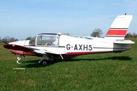 G-AXHS @ EGNG - Rallye MS 880B at Bagby
