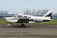 G-BRBA @ EGNU - Piper PA-28-161 at Full Sutton