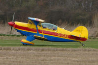 G-ICAS @ EGNU - Colourful Pitts at Full Sutton