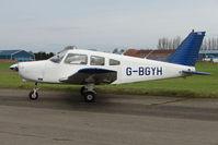 G-BGYH @ EGNU - Piper PA-28-161 at Full Sutton