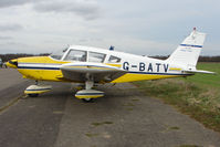 G-BATV @ EGNU - Piper PA-28-180 at Full Sutton