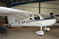 G-BPUU @ EGNU - 62 year old Cessna 140 at Full Sutton