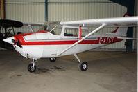 G-AYCT @ EGNU - Cessna F172H at Full Sutton