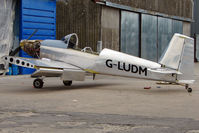 G-LUDM @ EGNU - Vans RV-8 at Full Sutton
