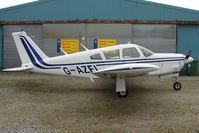 G-AZFI @ EGNU - Piper PA-28R-200 at Full Sutton
