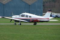 G-JDPB @ EGCJ - Pa-28-201T Arrow at Sherburn