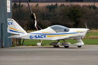 G-SACY @ EGCJ - Aero AT3 at Sherburn