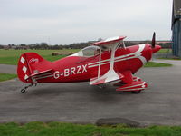 G-BRZX @ EGCJ - Pitts S-1S at Sherburn