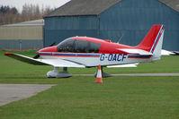 G-OACF @ EGCJ - Robin DR400/180 at Sherburn