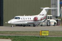 CS-DMF @ EGGW - Netjets Beechjet at Luton - by Terry Fletcher