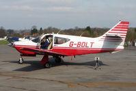 G-BOLT @ EGTR - Rockwell 114 at Elstree