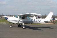 G-BJVJ @ EGTR - Cessna F152 at Elstree