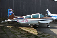 G-BOZO @ EGTR - Gulfstream AA-5B at Elstree