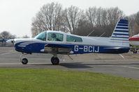 G-BCIJ @ EGTR - Grumman AA-5 at Elstree