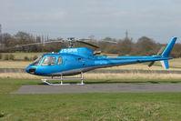 G-SPVK @ EGTR - AS350B3 at Elstree