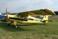 G-BAGT @ EGTR - One of only two Helio H-295 Couriers on the UK Register