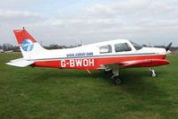 G-BWOH @ EGTR - Piper PA-28-161 at Elstree