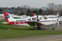 G-CETE @ EGTR - Piper PA-28-161 at Elstree