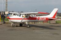 G-BCUH @ EGTR - Cessna F150M at Elstree