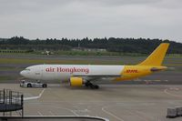 B-LDC @ RJAA - DHL Orient style at NRT - by FerryPNL