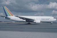 PT-TAI @ LOWW - Transbrasil 767-200