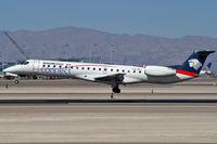 XA-BLI @ KLAS - Aeroméxico Connect / 2004 Embraer ERJ-145LR / My 5700th upload - by Brad Campbell