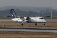 OE-LSB @ VIE - Bombardier DHC-8-314
