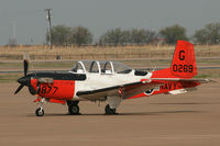 160269 @ AFW - US Navy T-34C Mentor at Alliance Fort Worth - by Zane Adams