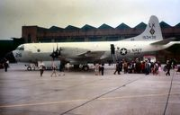 153439 @ MHZ - P-3B of VP-26 Squadron in the static park of the 1971 Mildenhall Airshow. - by Peter Nicholson