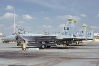 76-0137 @ KLUF - flightline scene at Luke AFB (Kodachrome slide scan) - by FBE