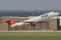 N9339 @ KSAT - taking off from San Antonio IAP / TX