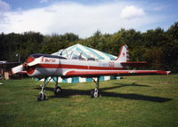 LY-ANM @ EGHP - G-YAKI AT POPHAM IN 1994 PRIOR TO REGISTRATION CHANGE - by BIKE PILOT