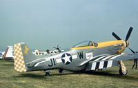 N51WT @ RDG - P-51D Mustang 45-11391 at the 1977 Reading Airshow - by Peter Nicholson