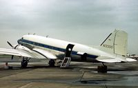 N13300 @ HRL - DC-3C at the Confederate Air Force's 1978 Airshow at Harlingen. - by Peter Nicholson