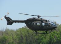 07-72034 @ DTN - UH-72A Lakota (Euurocopter EC-145) lifting off from the Shreveport Downtown airport. - by paulp