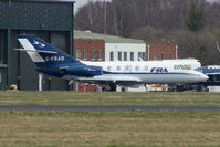 G-FRAD @ EGHH - FRA Falcon 20 at Bournemouth