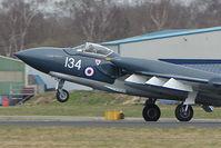 G-CVIX @ EGHH - DH110 Sea Vixen XP924 /G-CVIX at Bournemouth