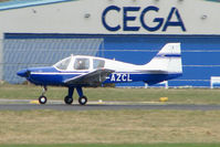 G-AZCL @ EGHH - Beagle Pup at Bournemouth