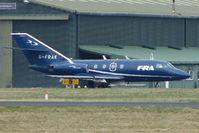 G-FRAK @ EGHH - FRA Falcon 20 at Bournemouth