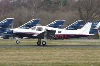 N77YY @ EGHH - Piper Pa-32-301LT at Bournemouth
